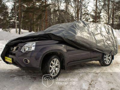 Защитный чехол-тент на автомобиль УКРЫВНОЙ размер 4XL (572х203х122см) купить в г. Москва